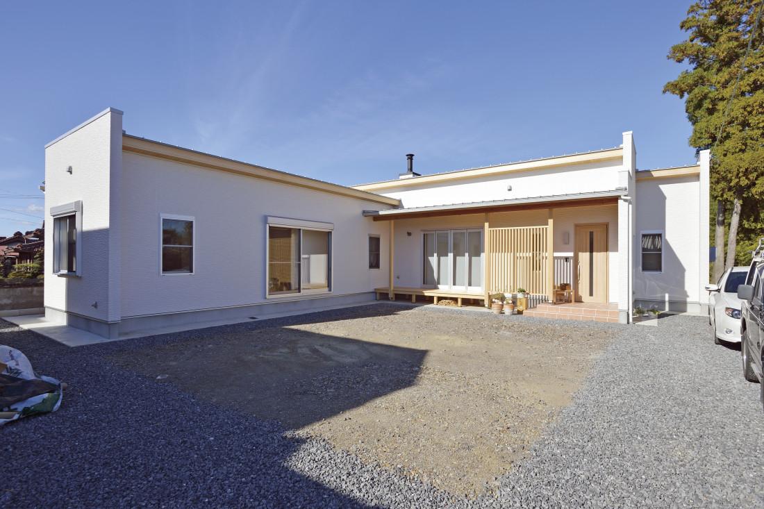 L字型の日当たりのいい平屋の家 アイキャッチ画像