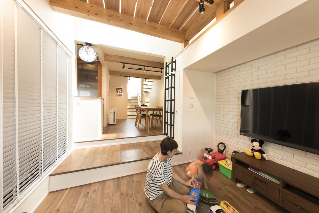 3階建てスキップフロアの家 アイキャッチ画像