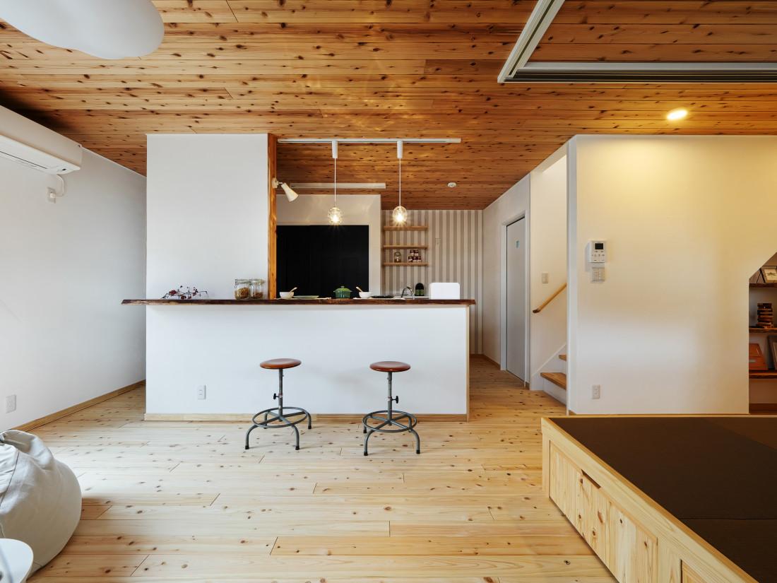 回遊キッチンと小上がり和室 アイキャッチ画像