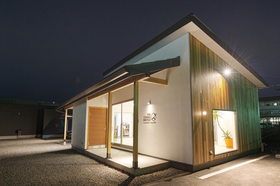 超自然素材でできた平屋の【無添加住宅】 アイキャッチ画像