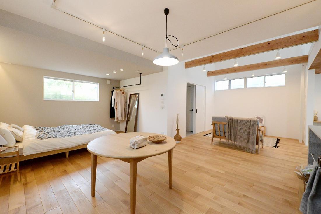 【究極の平屋LIMINI-Koti】住むという空間をとことん追求したお家 アイキャッチ画像
