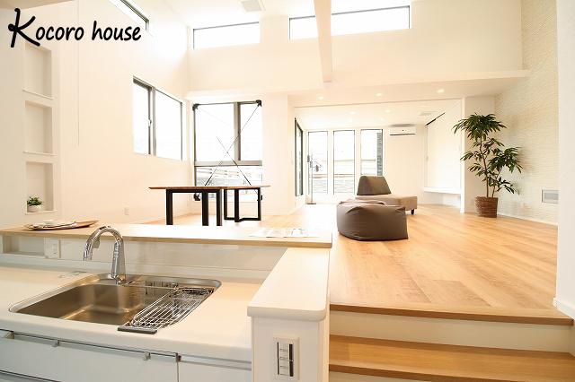 【Kocoro house】2階リビングの家 メイン画像
