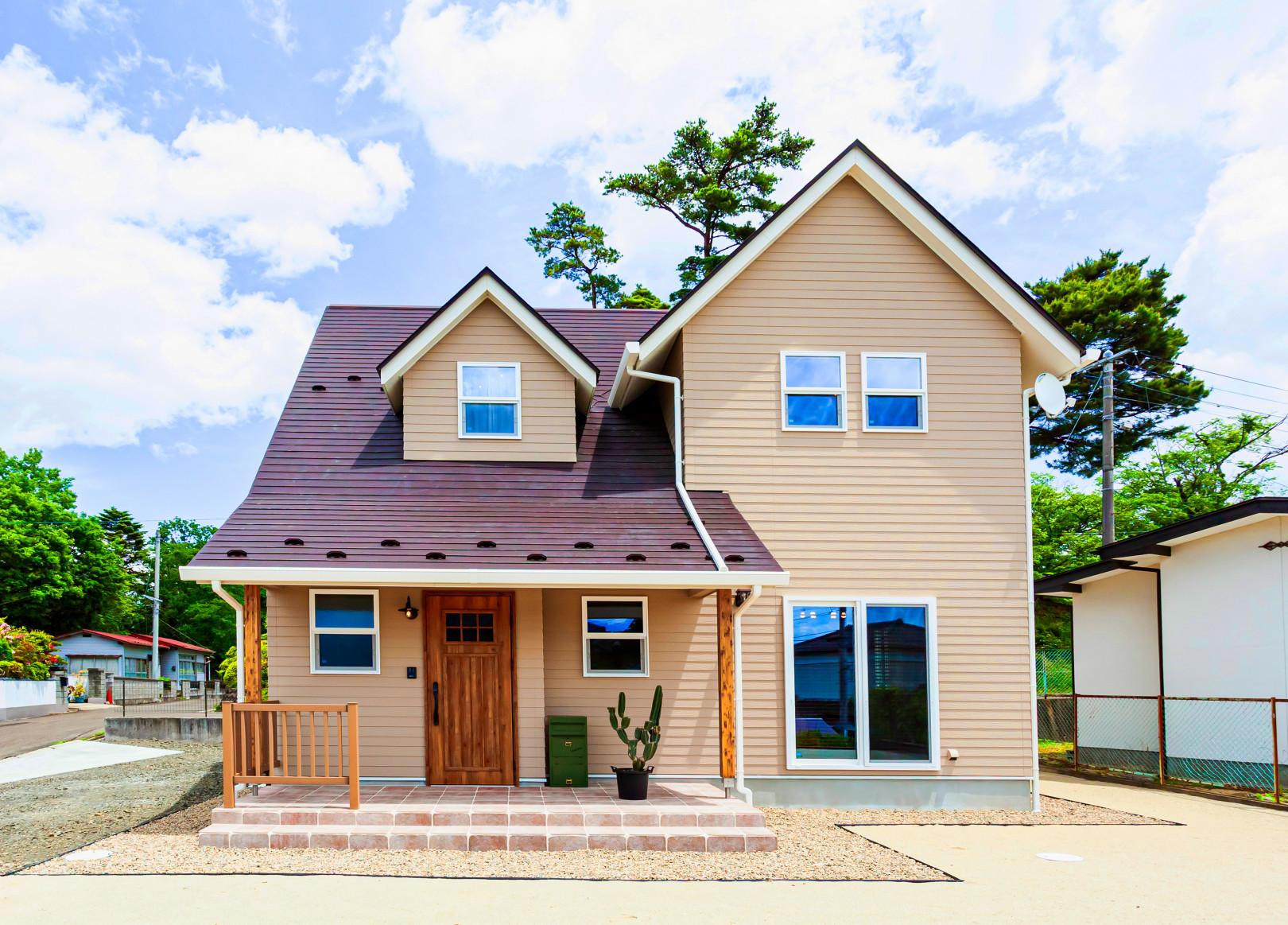 オールドアメリカンスタイルの家 アイキャッチ画像