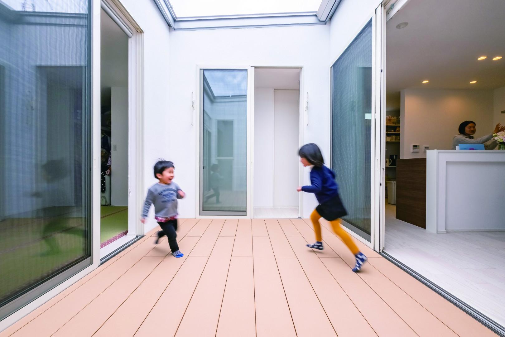子育て中も将来も自然体で暮らせるミニマムな住まい アイキャッチ画像