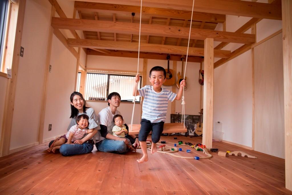 宮大工さんが建てた伝統工法の家   メイン画像