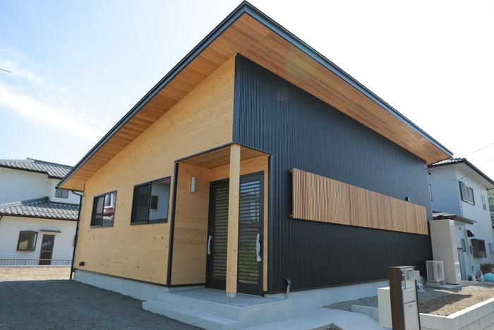 「平屋」太陽光搭載の木の家 アイキャッチ画像