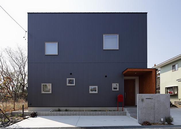 広い土間のある建築家さんとのコラボ住宅 アイキャッチ画像