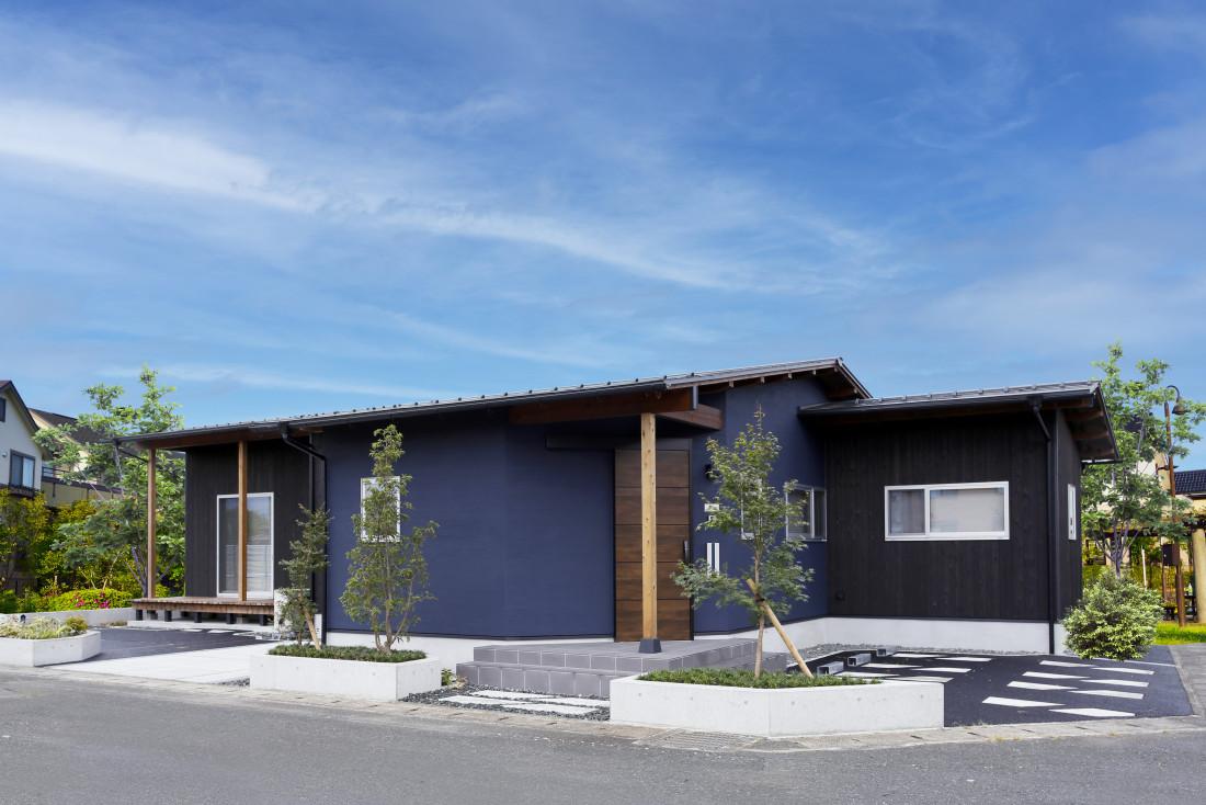 自然素材の平屋の家 アイキャッチ画像