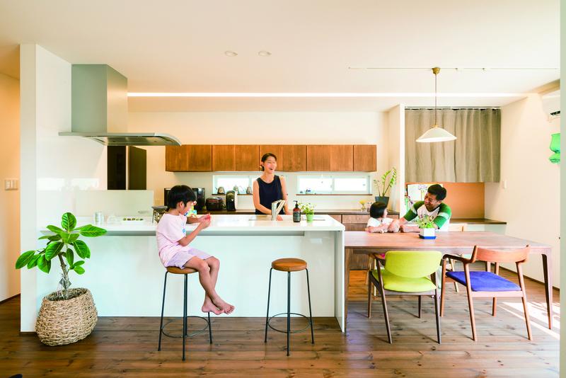 これから子どもたちの自慢の家になっていきそうです。 アイキャッチ画像